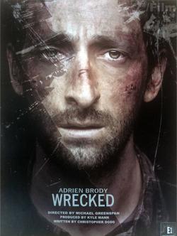 Wreckedadrien_brody_poster